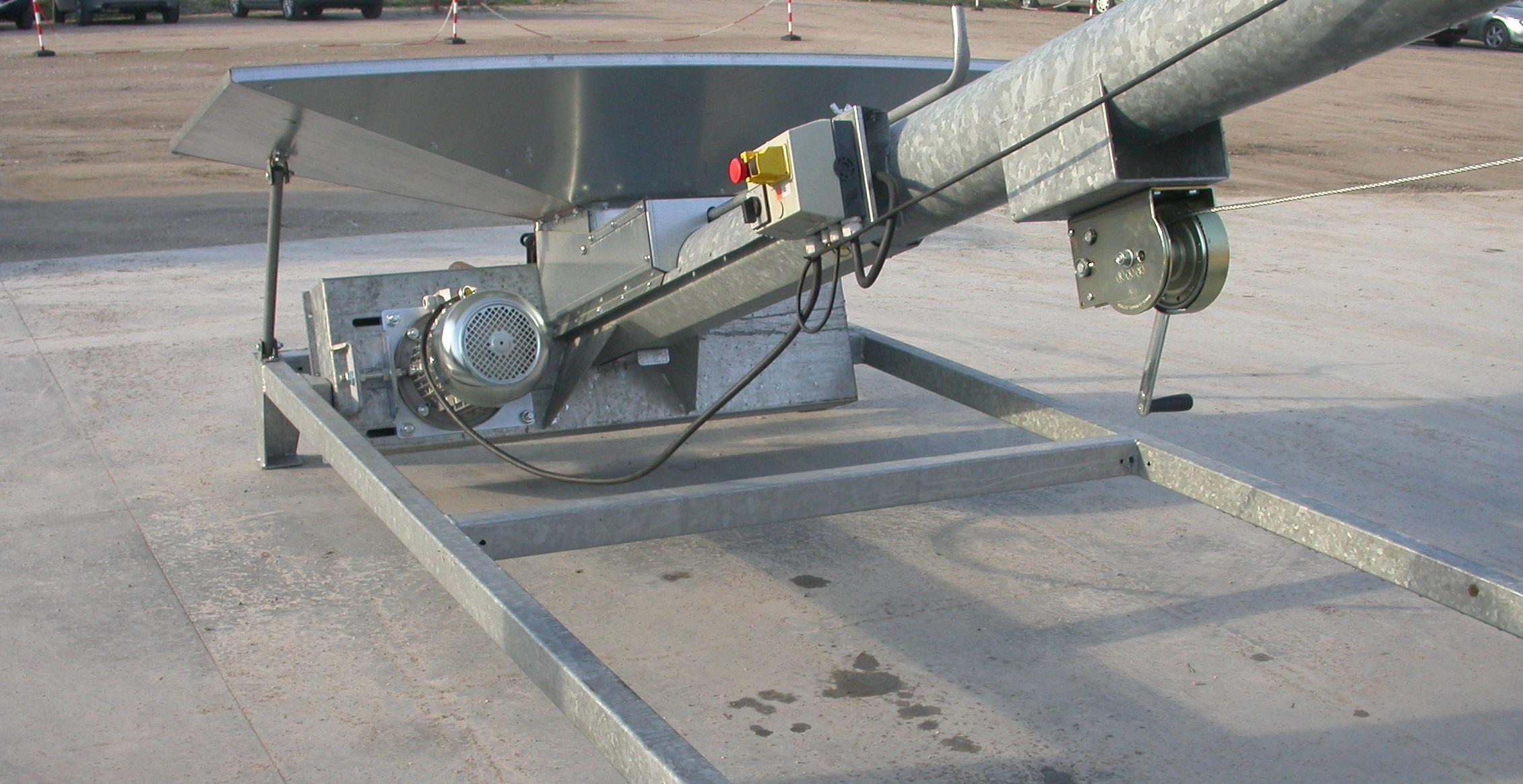 Towable screw conveyor SG series Portable Grain Auger