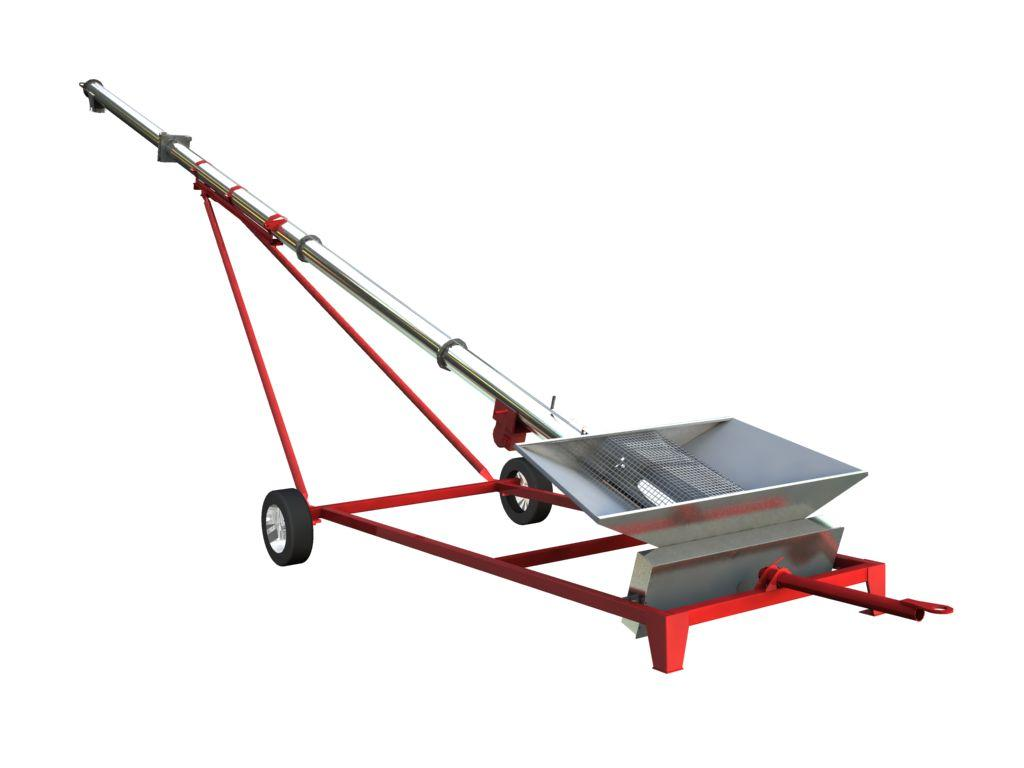 Towable screw conveyor SG series Portable Grain Auger - Pofer srl
