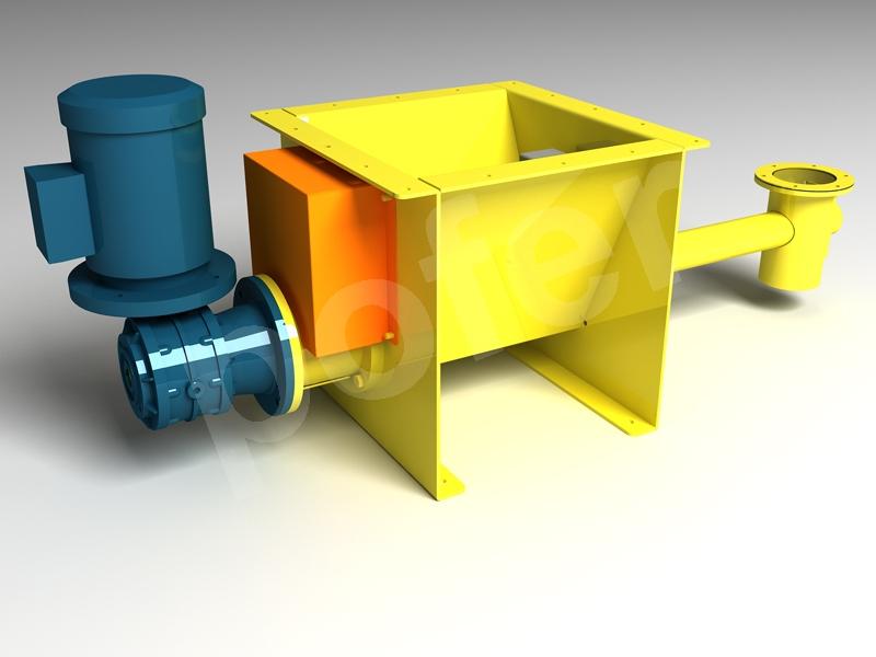 Micro-batch feeder with mixer mv series - Pofer srl