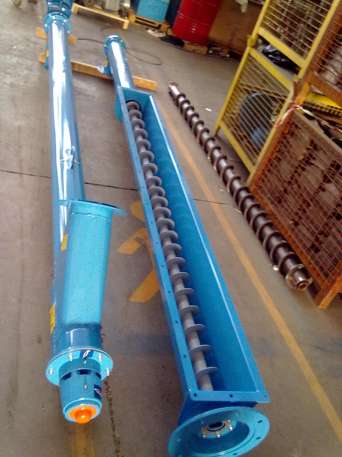Tubular Screw Conveyor For Cement Pofer Srl